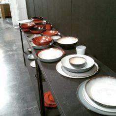 #vaisselle #serax chez sit on design. Joli mélange de couleurs pour ce service en céramique!