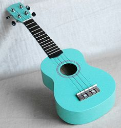 Wooden Soprano Ukulele (not ABS Plastic). Ukulele Features The all of photos are sample. / Special Green Color with Music Hole /. Ukulele Art, Cool Ukulele, Ukulele Songs, Ukulele Chords, Guitar Art, Ukulele Soprano, Guitar Painting, Violin, Ukulele Design