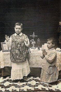 New Liturgical Movement: Fostering Young Vocations