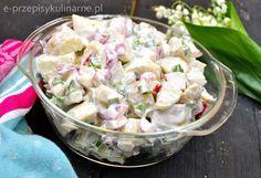 Sałatka z młodych ziemniaków   Przepisy Kulinarne