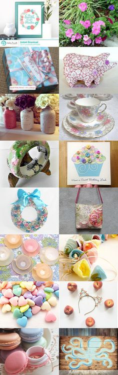 Pastel Creations by Jacquelyn Jones on Etsy--Pinned with TreasuryPin.com #promotingwomen