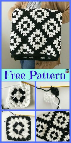 Unique Crochet Mabel Blanket - Free Pattern #freecrochetpatterns #blanket