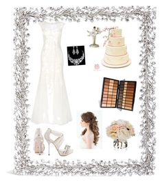 """""""Wedding day"""" by viv4540 ❤ liked on Polyvore featuring Lane Crawford, Phase Eight, David Tutera and Diane James"""