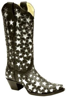 Star boots .... I'm no cowgirl but I'm pretty sure These shoes are screaming my name ......