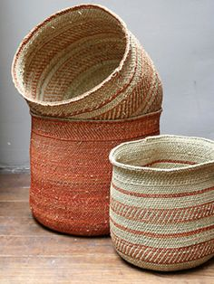 African Iringa Baskets — Maxwell's Daily Find 01.18.12