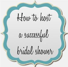 tips on hosting a bridal shower by Ooh La Love Events