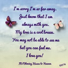 Message from Heaven Missing Mom In Heaven, Sister In Heaven, Missing My Son, Miss You Mom, Love You, My Love, Messages From Heaven, I Love My Brother, Heaven Quotes