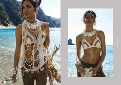 Editorial, Cover Up, Beach, Collection, Dresses, Fashion, Maori, Brunettes, Vestidos