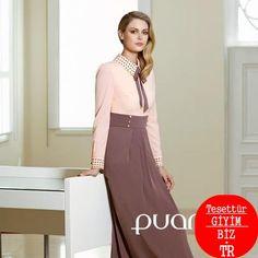 Puanadan beklenmedik bir çıkış daha işte sizlere o şahane modeller... Puane 2013 İlkbahar-Yaz Tesettür Giyim Modelleri