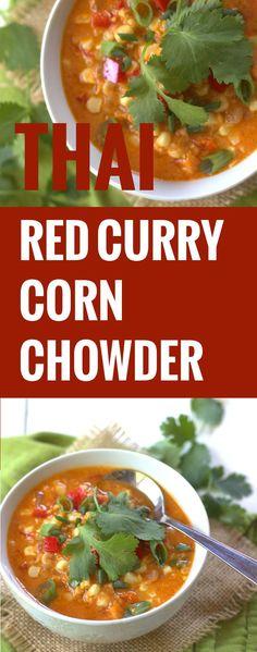 Thai Red Curry Corn Chowder
