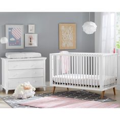 Add modern style to your nursery with the Kolcraft Roscoe Nursery Furniture Collection. With clean lines and solid wood construction, this furniture collection will update your nursery and last as your baby grows. Toddler Bed Mattress, Crib Mattress, Crib Sheets, Modern Baby Cribs, Lamb Nursery, Nursery Decor, Nursery Furniture Collections, Natural Bedding, Convertible Crib