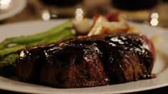 Filet Mignon with Rich Balsamic Glaze Allrecipes.com