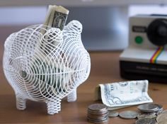 Friday Finds + Kickstarters: Oinky the Whimsical Piggy Bank - Shapeways Blog on 3D Printing News & Innovation