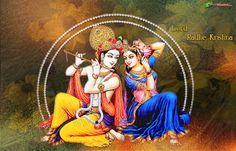 krishna wallpaper, Hindu wallpaper, Radhe Krishna Wallpaper, Download wallpaper, Spiritual wallpaper - Totalbhakti Preview