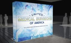 trade show display backwalls and towers - PictureCube® exhibit system