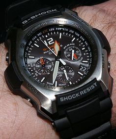 Casio G Shock Aviator Watch Very cool G Shocks, Casio G Shock Watches, Casio Watch, Amazing Watches, Beautiful Watches, Fancy Watches, Exterior Cladding, Julia Roberts, Watch Model, Telling Time