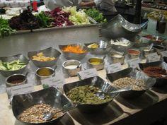 Salad Food Station
