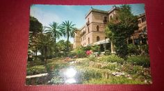 PALERMO Villa Igiea ITALY  old post card  POSTED 1964