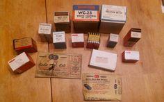 BIG Lot Vintage RCA Thordarson Centralab GE Philco Bell Calectro Mixed Parts NOS