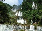 Namtok Thi Lo Su waterfall at Umphang Wildlife Sanctuary (UNESCO World Heritage Site), Thailand