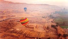 Luxor, Egypt, Balloon Ride