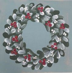 Our Folky Christmas designs look great in white but they also look beautiful in other colours too. Festive creativity!