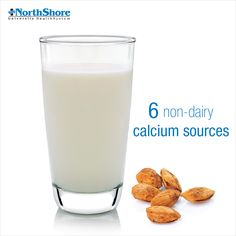 Whether you're lactose-intolerant or just looking to change up your diet, our short list of calcium sources will be a big help.