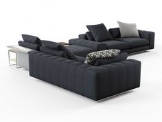 Minotti Freeman Corner Sofa System C computer generated model. Produced by Design Connected. Fine Furniture, Furniture Design, Corner Sofa And Chair, Modern Sofa Designs, Bedroom Sofa, Bedroom Accessories, Living Room, Couches, Home Decor