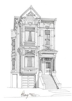 This stately Victorian is located in San Francisco at 819