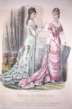 projet: Robe 1878/1879 Natural form - Couture Urbaine le blog, L' officiel