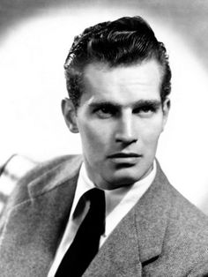CHARLTON HESTON  1923 - 2008    A truly legendary, iconic, larger-than-life screen presence.  Chuck has an astonishing list of performances to choose from, but I have two personal favorites.  The first time I saw him as Moses, that night I dreamt I was Moses.  It was empowering when I was ten and I still get chills from that wonderfully over-the-top, jaw-set performance.  He does it with such conviction that you buy every moment of it.