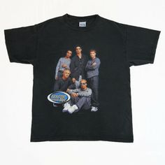 ca2250afa BACKSTREET BOYS Vintage T Shirt MILLENNIUM concert tour 1999 OG 90s nkotb  nsync | eBay