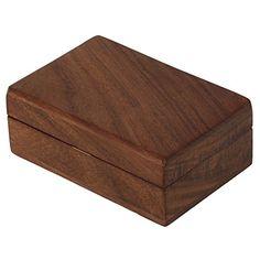 Holz-Schmuck Schmuck-Box, schlanke und Einfache Geschenk für Frauen, 10 x 6 x 4 cm ShalinIndia http://www.amazon.de/dp/B00PXZ9SKK/ref=cm_sw_r_pi_dp_k.4awb087BA1M