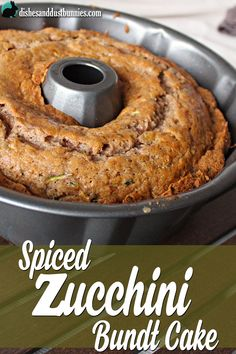 Zucchini is almost out of season so that means you'll most likely find lots of them on sale at your local market or grocery store. Zucchini can be used in so many different dishes - not just Zucchini Bundt Cake Recipe, Zucchini Bread Recipes, Zucchini Cake, Zucchini Desserts, Zuchinni Cupcakes, Lemon Zucchini, Köstliche Desserts, Delicious Desserts, Dessert Recipes