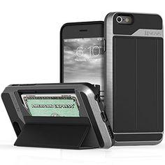 iPhone 6 6S Wallet Case - Vena [vCommute] Flip Leather Back [Card Slot…