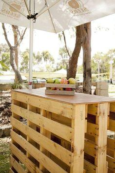 Le salon de jardin en palette en plus de 110 idées originales