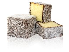 The Lamington is a popular snack in Australia and New Zealand that is  simply a cube of sponge cake (or butter cake in some older recipes) that is  dipped in ...