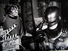 So THAT'S how they did that! Behind The Scenes image of Robocop