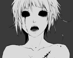 anime black and white | Tumblr