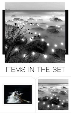 """Distance"" by gml2535 ❤ liked on Polyvore featuring art"