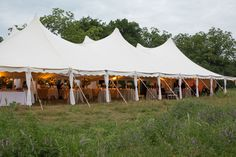 Sail cloth tent, spring wedding reception. Event Design by Greg Boulus Events. Augusta, GA   Image by Ashley Seawell Photography.