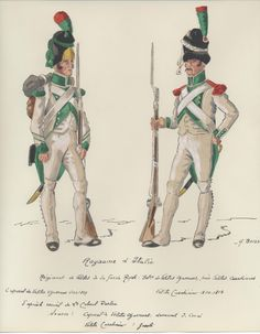 Velite Chasseur Corporal Subsequently renamed Battalion of Carabiners. Velite Carabiner By H. Naples, Kingdom Of Italy, Italian Army, Royal Guard, French Empire, French Army, Napoleonic Wars, Military History, Warfare