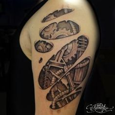 Bio Mechanical | Authentic Art Tattoo