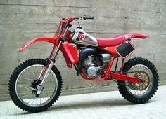 old TM Racing motorcycle