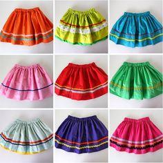 TUTORIAL: ¡Fiesta Skirts! for Cinco De Mayo | MADE (x stoffa grigia)