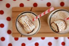 Toasted Marshmallow Milkshake: Instant happiness!