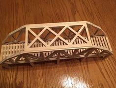 Making a Model Railroad Bridge on a youtu. Railroad Bridge, Making A Model, Train Layouts, Cnc Router, Dremel, College Life, Model Trains, Diy Woodworking, 3d Design