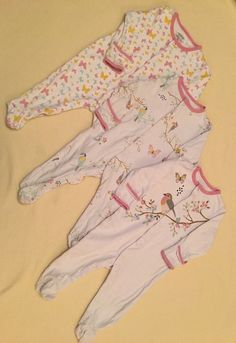 3 X Mamas And Papas Sleepsuits Bodysuits 6-9 Months in Baby, Clothes, Shoes & Accessories, Girls' Clothing (0-24 Months)   eBay!