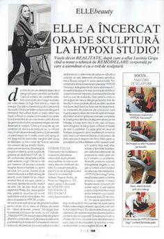 Elle Romania, aprilie 2013 #Hypoxi #HealthySkin Romania, Healthy Skin, Healthy Skin Tips
