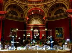 National Gallery Perspex food wall by tinanissondesign.london